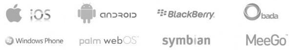 Liste des logos de systèmes d'exploitation mobile