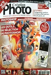 Couverture du magazine de Création Photo n°5