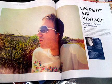 Les premières pages du tutoriel du magazine