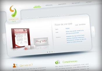 Accueil de CreativeJuiz.com