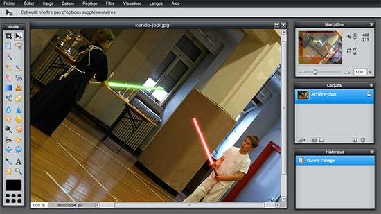 Logiciel fran ais gratuit retouche photo des photos des for Photo ecran logiciel