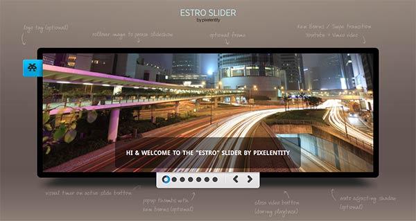 Voir le slideshow Estro Slider