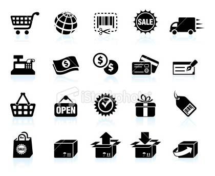 istockpIcônes riches vectorielles sur la thématique du e-commerce