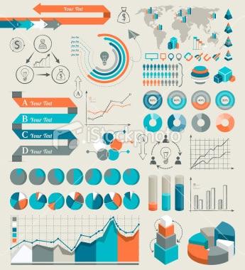 istockphoto - Composants pour Infographie 1