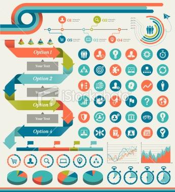 istockphoto Composants pour infographie 3