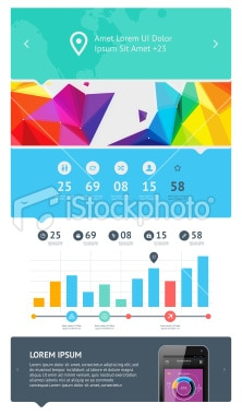 istockphoto - Composants Flat Design 2