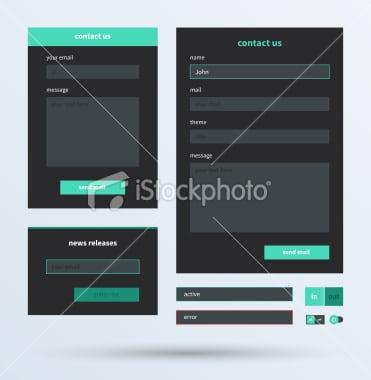 istockphoto - Composants Flat Design 3