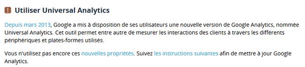 Dareboost conseille sur les mises à jour des outils utilisés.