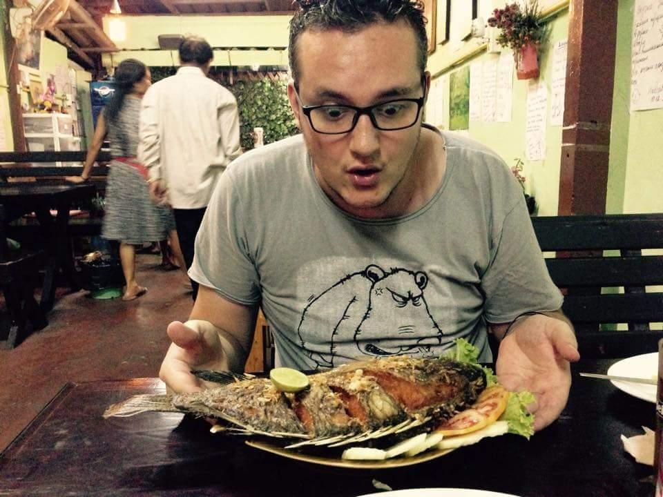L'Asie au quotidien : orgie de bouffe (poisson frais, 6€).