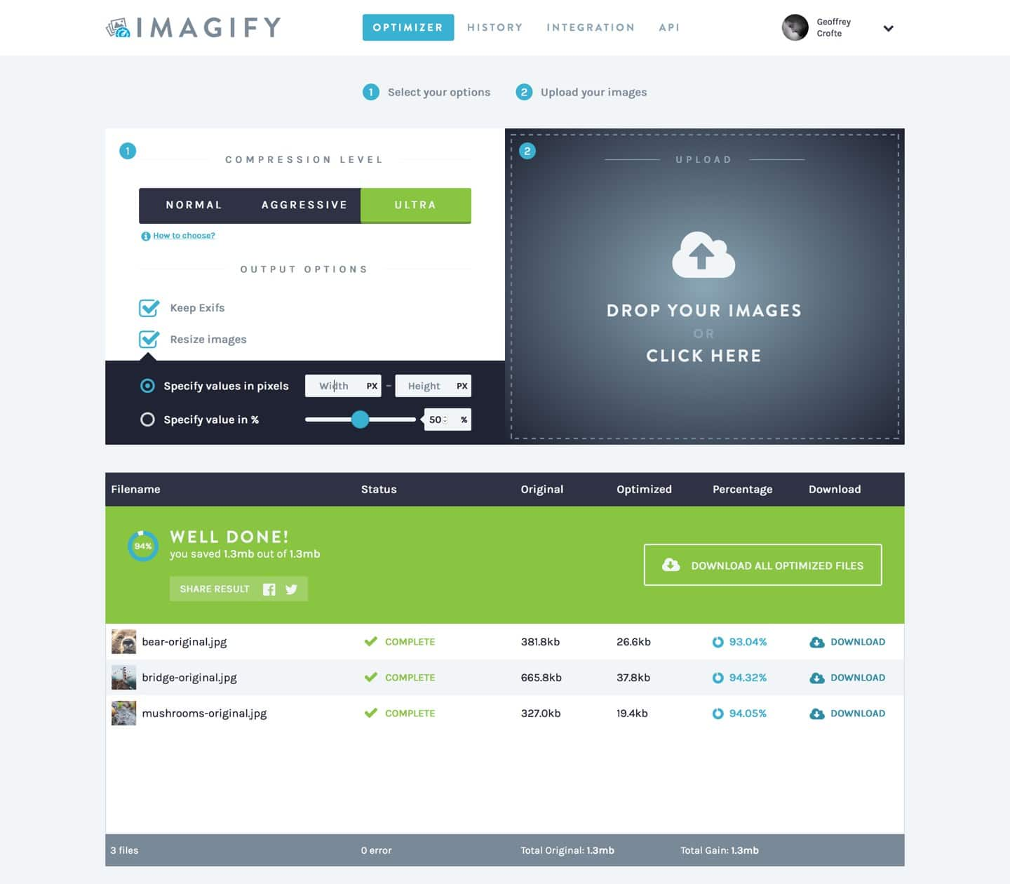 imagify-app-in-action