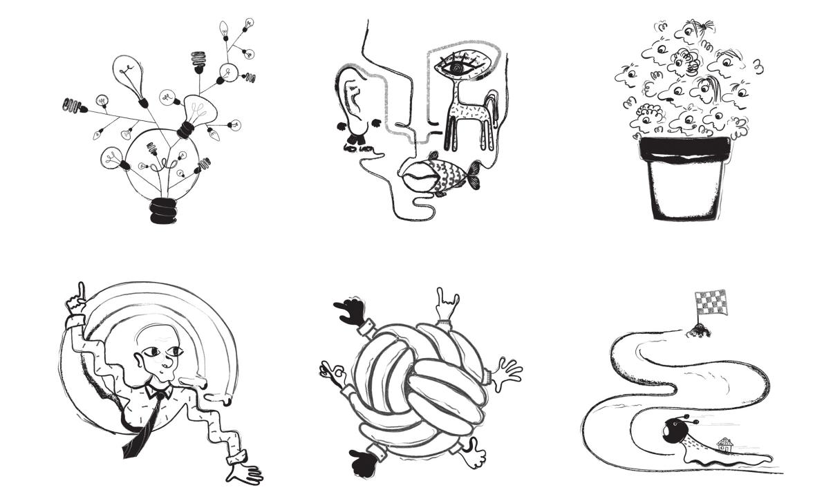 Absurd Design Illustrations