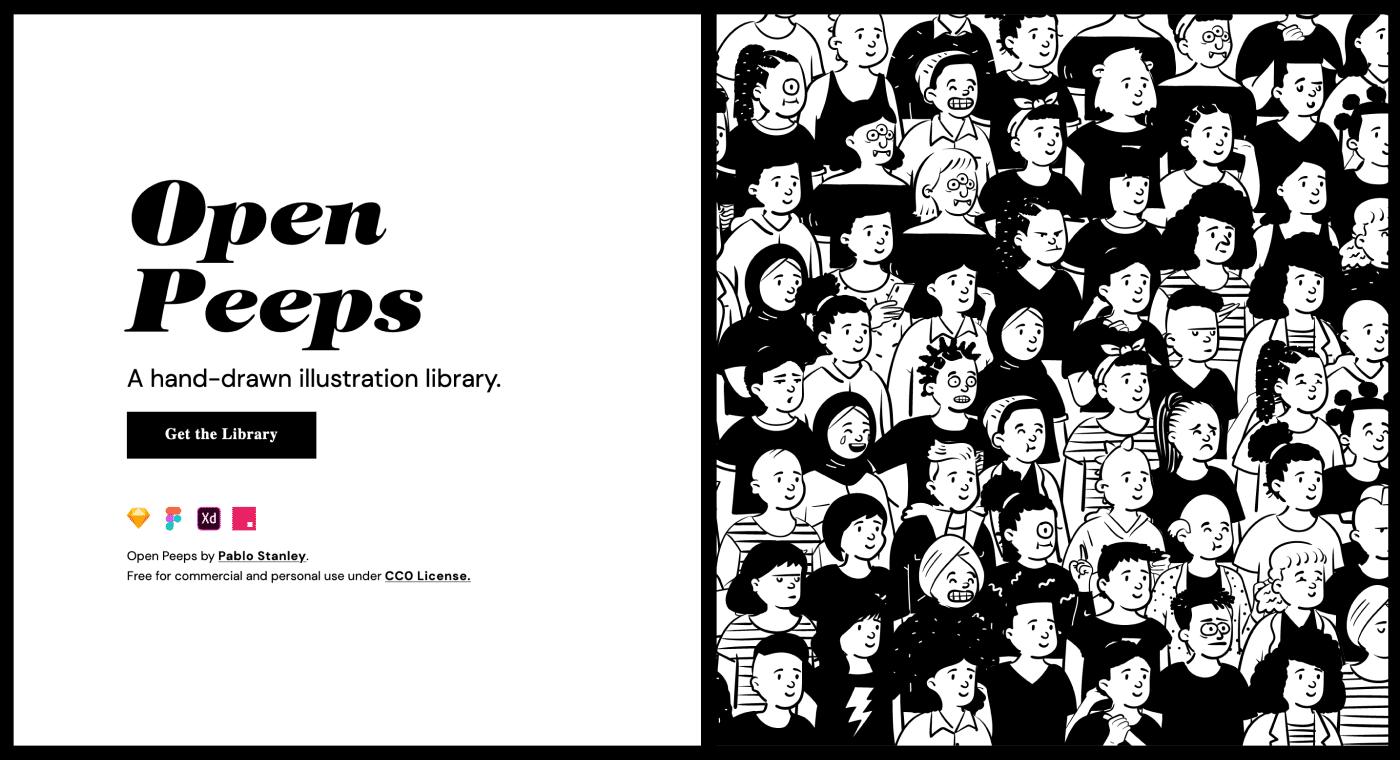 OpenPeeps Illustrations