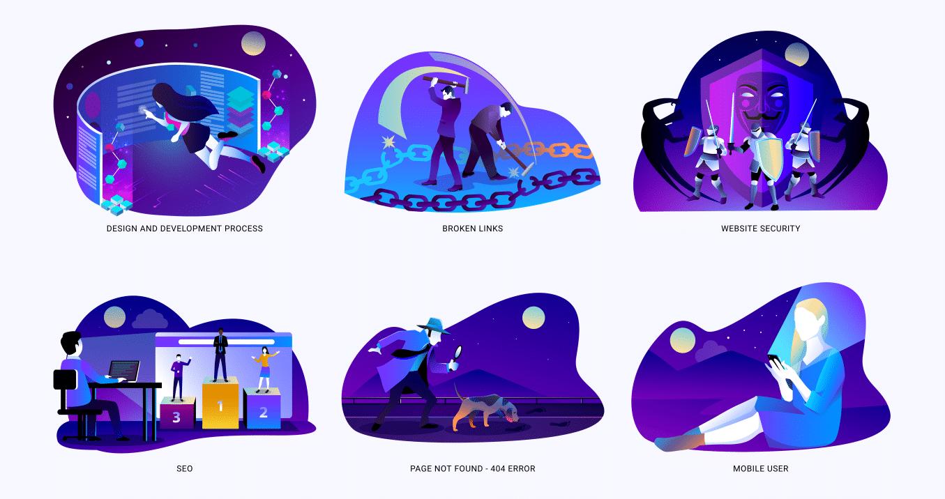 Woobro Illustrations