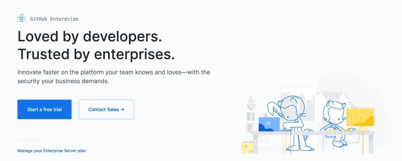 Self-hosted Github